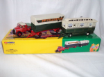 16502 Corgi Pat Collins Scammell Highwayman Ballast With Closed Pole Trailer & Caravan Set from The